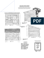 10x8 shed plan