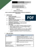 Asistente Administrativo of. Planeam y Pres