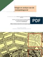 De Morfologie en Analyse Van de Stadsplattegrond_slides_paul Blondeel