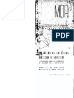 Dibujo de Planos,MOP-1