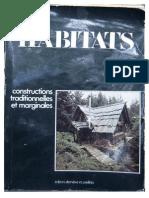 Habitats Contructions Traditionnelles Et Marginales