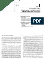06. Ritzer (1993) El Funcional-Estructuralismo y la alternativa de la Teoría del Conflicto