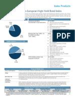 06 Pan European High-Yield Index Factsheet
