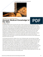 Ancient Medical Knowledge is Written in the Skin _ Ancient Origins
