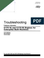 Caterpillar - Troubleshooting for c175-16 & c175-20 Engines for Caterpillar Built Machines