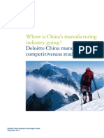 China's Manufacturing Deloitte