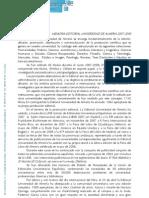 MEMORIA EDITORIAL UNIVERSIDAD DE ALMERIA 2007-2008