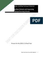 Public School Choice Process DRAFT rev 9--4-09