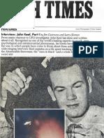 1984 John A. Keel Interview Part 1