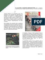"""[Artículo] Entrevista Revista Manufactura """"sobre ISO"""""""