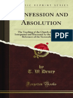 Confession and Absolution - 9781451007923