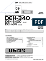 Pioneer Deh 340,Deh 34,Deh 3400