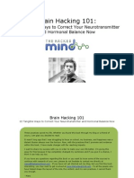 Brain Hacking 101 12 Tangible Ways to Correct Your Neurotransmitter and Hormonal Balance Now