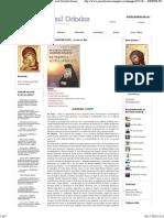 CAP. 1 - DeSPRE POST... Si Cum Se Tine - Duhovnicul Ortodox Ilarion Argatu