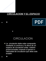 Circulacion en el Espacio