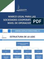 Marco Legal Para Las Sociedades Cooperativas Nivel II