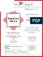 AHYC Lasagna Night