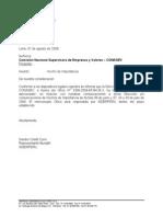SIDERC1_HR090807 CONASEV Inicio Procedimiento Sancionador