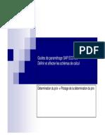 GU_SAP ECC 6.0_Définir et affecter les schémas de calcul