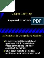 Ch36 Asymmetric Information