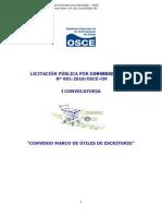 Bases Integradas Licitación Pública por Convenio Marco N 001-2010OSCE-CM