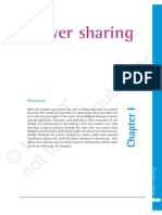 1. Power Sharing