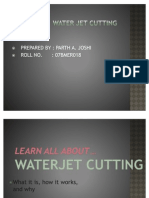 43396293 Water Jet Cutter Ppt