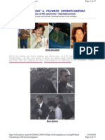 Info on Scientology's Private Investigators up to 2007