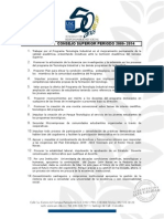 ALVARO MINA PAZ-2009-2014-PROPUESTAS C0NSEJO SUPERIO 2009-2014