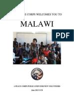 Peace Corps Malawi Welcome Book  |  June 2013 'CCD'   mwwb614