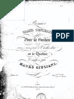 Giuliani, Mauro - Grand Concerto, Op. 30