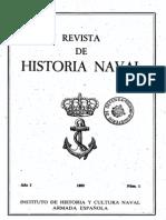 Revista de Historia Naval Nº1. Año 1983