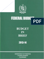 Budget in Brief 2013 14