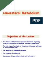Cholesterol Metabolism- CVS