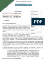 Revista Brasileira de Ciências Sociais - Introdução à dádiva