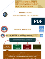 Presentación_NIC_Instrumentos Financieros