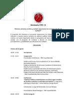 Programa Seminario CVR+6