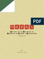 Revista Hapax Numero VI