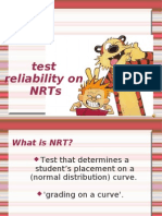 Test Reliability_chapter 8