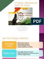 Institutional Developmental Plan-RUSA
