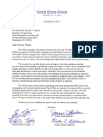 Tester Coexistence Letter to USDA