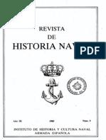 Revista de Historia Naval Nº9. Año 1985