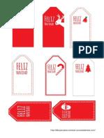 Etiquetas Navidad