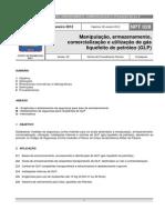 NPT 028-11 - Manipulacao Armazenamento Comercializacao e Utilizacao de GLP