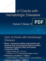 Patho-Hematologic Disorder