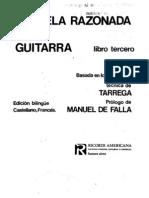 Emilio Pujol Escuela Razonada de La Guitarra Vol 3 0