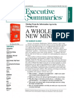 A Whole New Mind (Executive Summary)