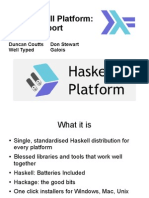 The Haskell Platform
