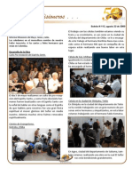 Boletin 112 Informe Misionero Japon Agosto 2009