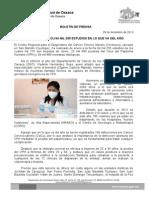 29 de diciembre de 13_REALIZA CERDCACU 64 MIL 255 ESTUDIOS EN LO QUE VA DEL AÑO ...
